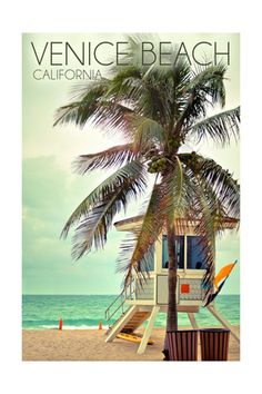 Venice Beach CA, Posters and Prints at Art.com