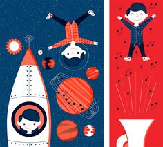 Alex Westgate Illustration / illustration for the BBC Philharmonic's annual children's concert