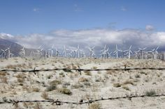 Wind turbines outside Palm Springs California by angiemccullagh, $122.00 #californiaphoto #desertphotography