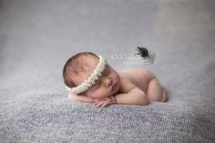 Hot new item from #JuliesElegantCrafts Pearl Tieback --Newborn Tieback-- --Child Tieback-- --Hair Tieback-- 5.00 USD