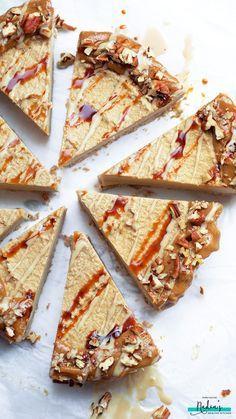 vegan Salted Caramel Cheesecake