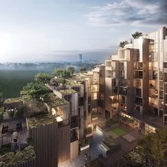 New residential complex in Stockholm by Bjarke Ingels - http://www.decorationarch.net/interior-design-ideas/new-residential-complex-in-stockholm-by-bjarke-ingels.html -