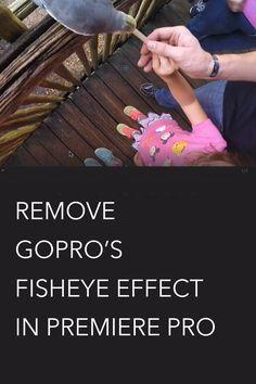Remove GoPro Fisheye in Adobe Premiere Pro PLUS Basic Effects Lesson - VidProMom.com