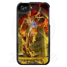 Scales of Justice iPhone 4 Cases