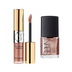 Weekend Beauty: Metallic Makeup Combos To Try | The Zoe Report