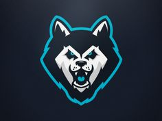 Husky Mascot Logo designed by Ania De Herrera. Connect with them on Dribbble; the global community for designers and creative professionals. Team Logo Design, Graphic Design Services, Husky Logo, Arte Dope, Esports Logo, Sports Team Logos, Eagle Logo, Logo Sticker, Logo Concept