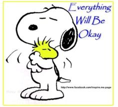 Snoopy • Everything will be okay