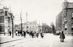 Hoek Wilhelminastraat, Ginnekenweg, Koninginnestraat en Baronielaan.
