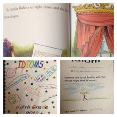 Amelia Bedelia - Idioms 5th grade lesson