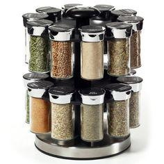 Elegant Kamenstein 20 Jar Rotating Spice Rack   Http://spicegrinder.biz/kamenstein