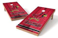 Illinois State Redbirds Redbirds Cornhole Board Set - Vintage