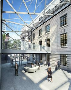 London Business School @ Old Maylebone Townhall by Sheppard Robson Architects
