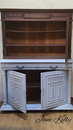 Original French Renaissance Henry II Style Buffet Makeover Up Cycled And Modified For My Dining