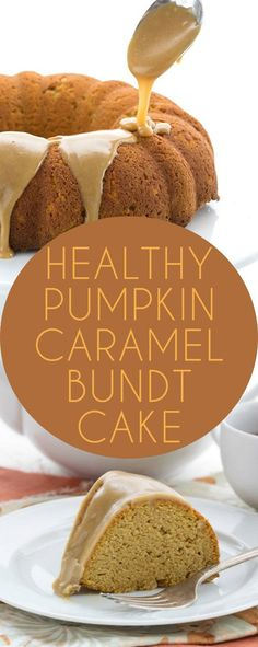 Low Carb Pumpkin Caramel Bundt Cake. Grain-free THM Banting Recipe via…