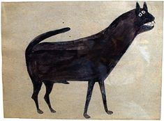 Bill Traylor (1854-1949).  Cat.
