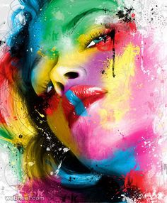 30 Mind-Blowing and Colorful Paintings by famous French artist Patrice Murciano | Read full article: http://webneel.com/30-mind-blowing-and-colorful-paintings-patrice-murciano | more http://webneel.com/daily | Follow us www.pinterest.com/webneel