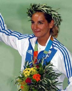 Emilia Tsoulfa Sailing Olympic Winners, Greeks, Sailing, Candle
