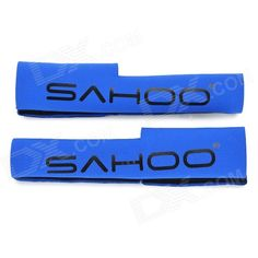 SAHOO Bicycle Front Fork Protecting Cover - Blue (Pair) Price: $3.77