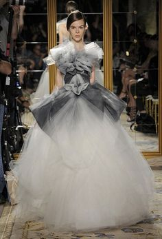 A tasteful meringue from                          Marchesa                          ...nobody does it better.