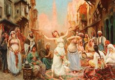 Harem Dance Fabio Fabbi   (Italian, 1861–1946) Oil on canvas.