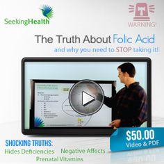 Seeking Health, Inc Negative effects of folic acid.