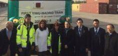 Madrid China unidas por un tren