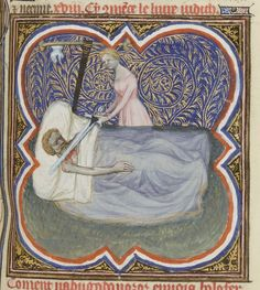 Guiard des Moulins,Bible Historiale de Jean de Berry. Date d'édition : 1380-1390 Type : manuscrit
