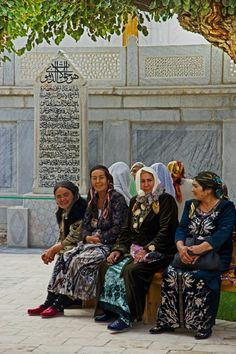The ladies group :: Bukhara