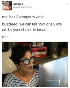Lol I took this quiz (link was on tumblr post) and got very lonely the bread doesn't lie