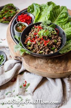 Customizable Ketogenic, Low Carb, and Gluten Free Meal Plans sent right to your email each week! Low-Carb Keto Meal Plan Menu Week 36 | Sugar Free Mom Gluten Free Meal Plan, Low Carb Meal Plan, Low Carb Keto, Sugar Free Recipes, Keto Recipes, Home Recipes, Beef Lettuce Wraps, Prepped Lunches, Meal Planning