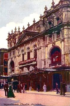 Wyndhams Theatre, London