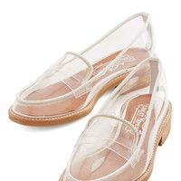 Jeffrey Campbell Proud and Clear Loafer | Mod Retro Vintage Flats | ModCloth.com