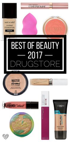 Affordable brands have really stepped up their game this year. Check out my best of beauty 2017 drugstore makeup product recap!