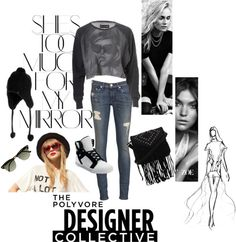 """Rebel chic"" by chiari98 on Polyvore"