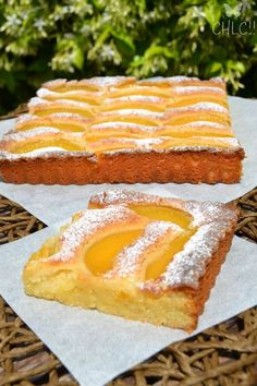 TARTA DE MELOCOTON Y ALMENDRA (Thermomix) Sweet Cooking, Cooking Time, Cooking Recipes, Sweet Pie, Sweet Bread, Sweet Recipes, Cake Recipes, Peach Cake, Thermomix Desserts