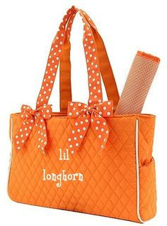 A perfect game day baby bag!