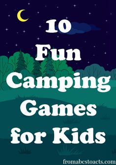 10 Fun Camping Games for Kids - red rover, capture the flag, tic tac toe w nature, skee ball w nature, Camping Ideas For Couples, Camping Games Kids, Camping Theme, Camping With Kids, Camping Gear, Camping Hacks, Outdoor Camping, Camping Jokes, Camping Stuff
