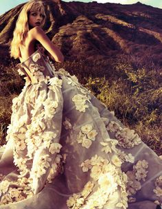 Anna Selszneva by Camilla Akrans - Vogue China