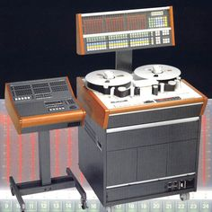 Hansén Audio used audio equipment sales ['Studer A820, 24 track machine complete with remote and autolocator with floor stand Dolby SR noise reduction on all 24 tracks manufactured 1995, serial number 2002'; audio 24-track multi-track open-reel reel-to-reel tape recorder]