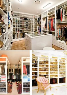 Closets of the rich and famous