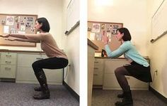 'I Took Squat Breaks At Work Every Day For A Month, And Here's What Happened'  http://www.womenshealthmag.com/fitness/squat-breaks-at-work?utm_source=pinterest.com