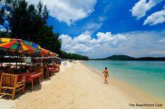 white sand at Bang Tao Beach, Phuket, Thailand