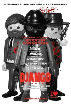 Django en versión playmobil. Enjoy it