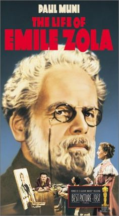 """1937 - Best picture -""""The Life of Emile Zola"""""""