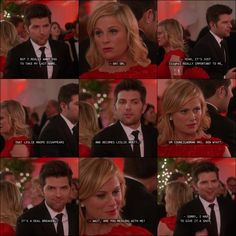 """Parks and Recreation quote, Leslie Knope and Ben Wyatt """"I want you to take my last name."""" This is my all-time favorite. Parks And Rec Quotes, Parks N Rec, Tv Show Quotes, Parks And Recreation, Pink Floyd Quotes, Leslie Knope Quotes, Anarchy Quotes, Ben Wyatt, Explore Quotes"""