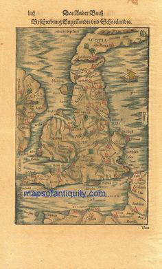 Antique Map Ireland – Maps of Antiquity