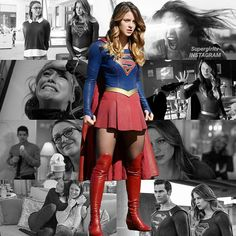 Up up and away we go, #supergirl ! @melissabenoist