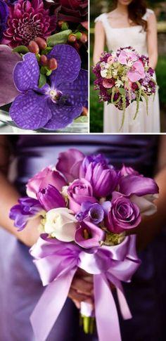 Radiant Orchid Wedding Ceremony Inspiration - http://www.decorweddingideas.com/other-ideas/radiant-orchid-wedding-ceremony-inspiration.html