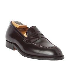 Split Toe LoaferColor 8 Shell Cordovan1030 – Alden Shoes Madison Avenue New York