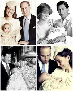 Meet your grandson Diana William with his parents, and with his wife and baby Prince George Royal Families, Duchess Of Cambridge